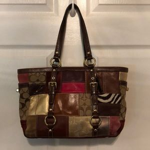 Coach patchwork bag.